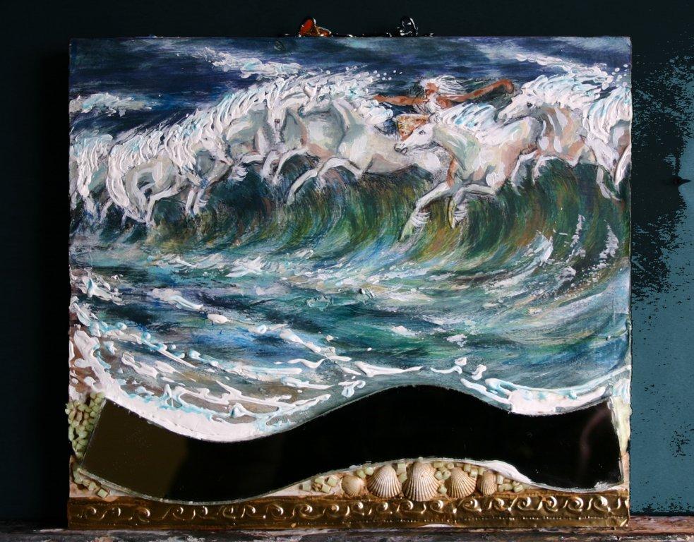 Die Rösser des Neptun,   Verkauft