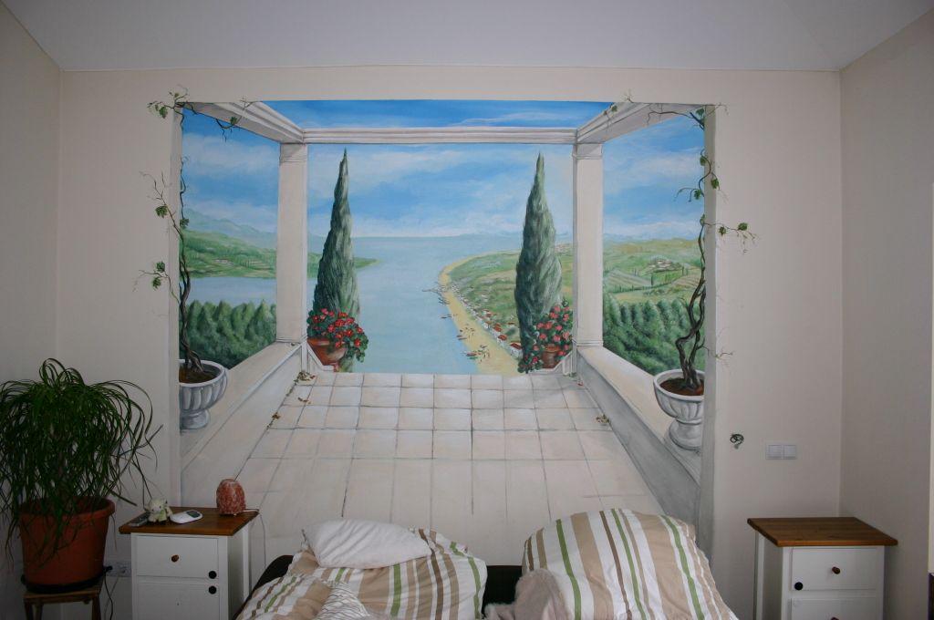Schlafzimmerwand 450.- Euro