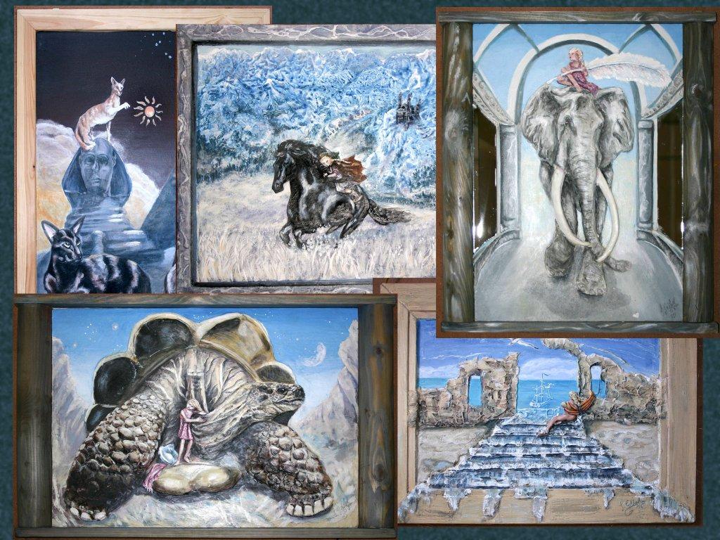 Seelenbilder im Gemälde-shop