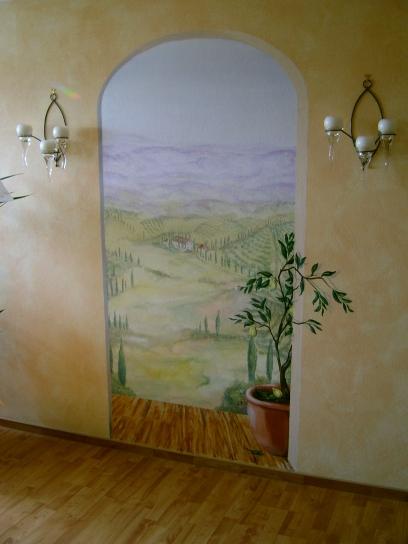 Toskana im Wohnzimmer
