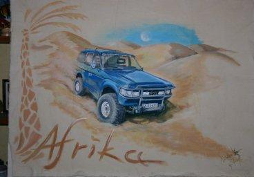 Wüstenrennfahrer